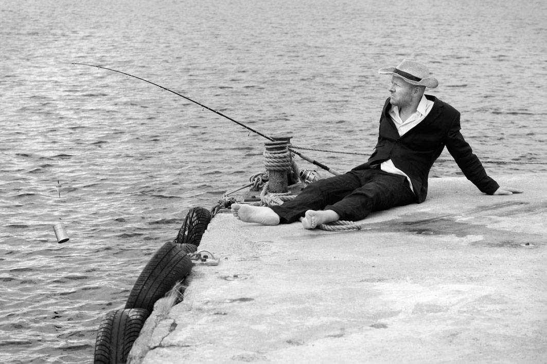 Gone Fishin' - Thomas Sandberg. Photo by Lena Paaske