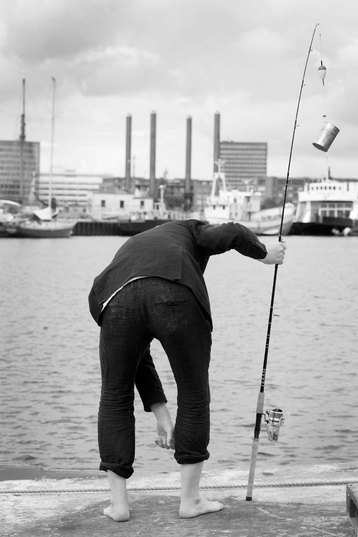 Gone Fishin' - Thomas Sandberg. Photo by Lena Paaske