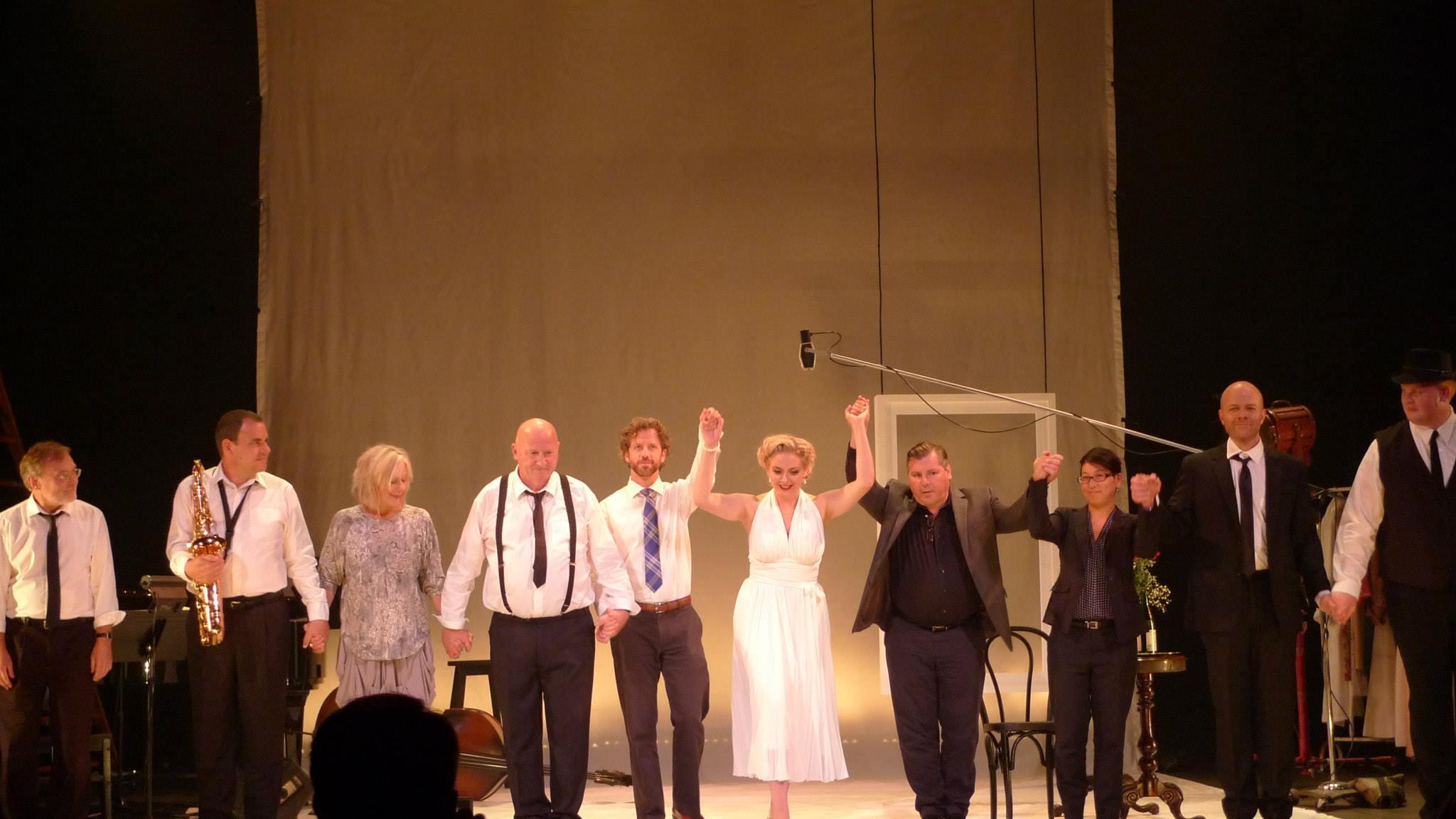Marilyn Forever - Opera by Gavin Bryars. Photo by Anthony B. Creamer